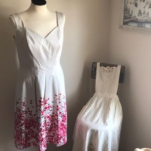 WHBM Cherry Blossom Dress